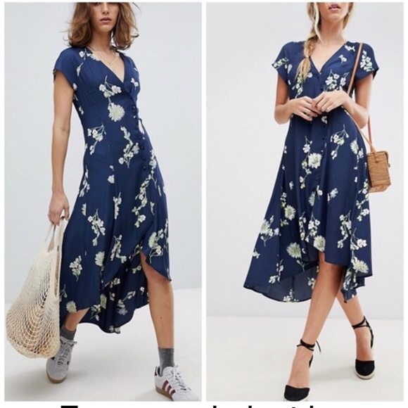 "Free People Dresses & Skirts - Free people ""lost in you"" floral Large"